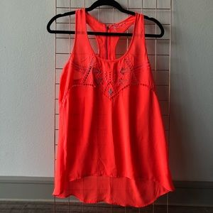 Tops - Embroidered Racerback